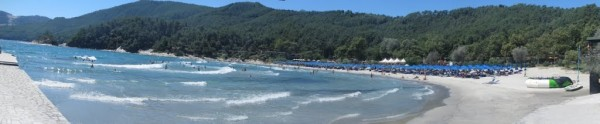 Makriammos beach